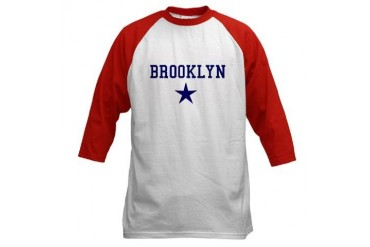Brooklyn Jersey Brooklyn Baseball Jersey by CafePress