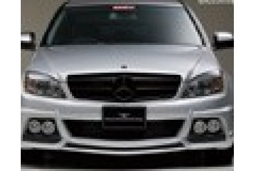 Wald International Black Bison Front Half Bumper Mercedes C63 07