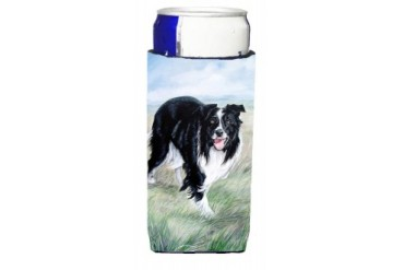 Border Collie Ultra Beverage Insulators for slim cans VLM1020MUK