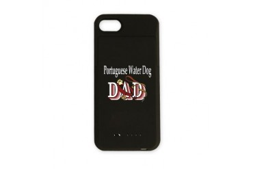 portie dad trans.png Pets iPhone Charger Case by CafePress