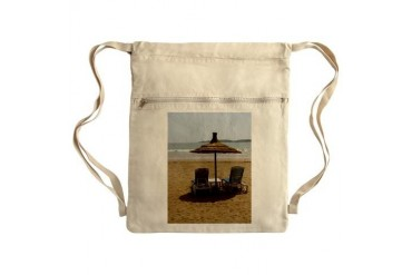 Moroccan Beach Sack Pack Beach Cinch Sack by CafePress