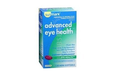 Sunmark Advanced Eye Health 120 caps