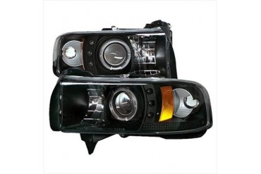 Spyder Auto Group Halo LED Projector Headlights 5010087 Headlight Replacement