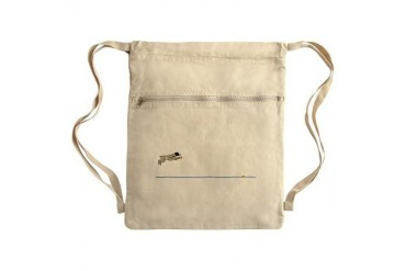 To the Bumper LT Sack Pack Pets Cinch Sack by CafePress