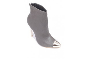 Grey Low-cut Boots