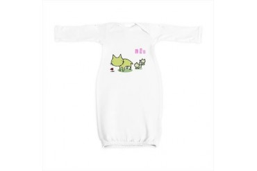 Liz Cute Baby Gown by CafePress