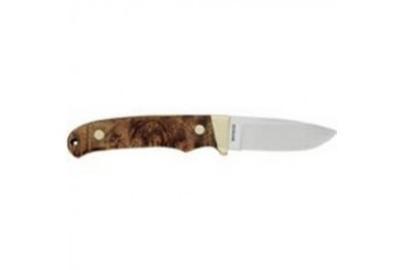 SCHRADE PH2W DESERT IRON WOOD HANDLE, NICKEL BOLSTER FIXED BLADE WITH SHEAT