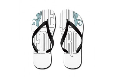 Team Edward Romance Flip Flops by CafePress