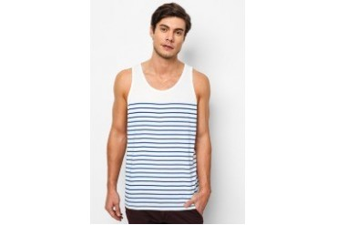 River Island Sleeveless Breton Stripe Vest