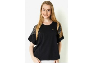 Surfer Girl Apparel Nata Blouse Short Sleeve