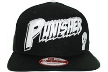 super popular 7b158 ced31 Marvel Comics Punisher Raised Name New Era 9Fifty Embroidered Snap Closure  Hat - Price Comparison