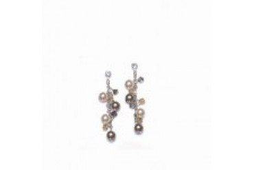 Mariell Color Accented Earrings - Style 397E