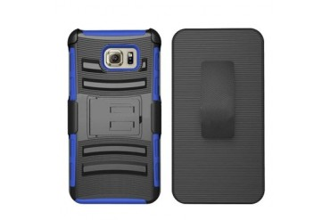 Samsung Galaxy S6 Edge Plus Armor Belt Clip Holster Case Cover Blue