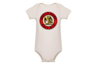 Isle of Man Beer Label 1 Vintage Organic Baby Bodysuit by CafePress