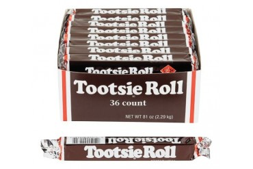 36 Pack Tootsie Roll 931 Candy Chewy Chocolaty Favorite Since 1896