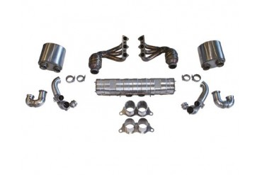 Cargraphic Exhaust Kit 2 Quieter Motorsport Version Porsche 997 GT3 07-09