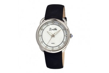 Bertha Beverly MOP Swiss Watch-Silver White