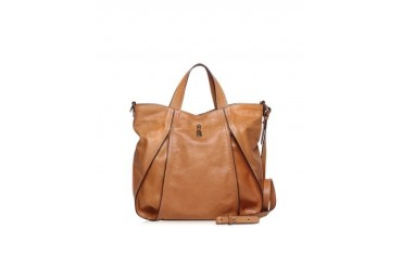 Copacabana Brown Leather Tote