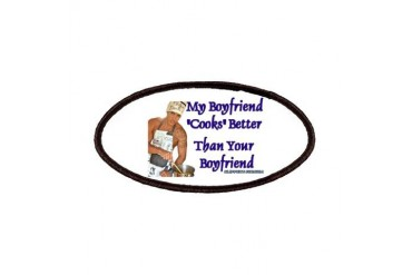 Boyfriend14 Humor Patches by CafePress