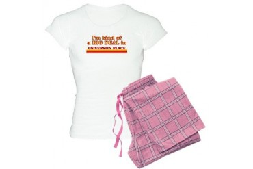 I am kind of a BIG DEAL in University Place Women' Location Women's Light Pajamas by CafePress