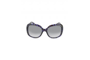WILEY/S BMFPG Purple Havana Oversize Sunglasses