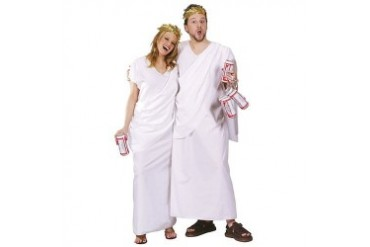 Adult Unisex Toga Party Greek Halloween Costume