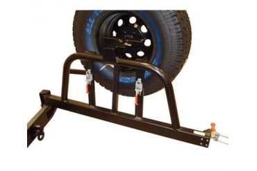 Body Armor 4x4 TJ Wrangler Tire Carrier for Rear Bumper in Black Powder Coat 5292 Tire Carriers