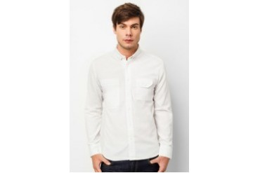 Long Sleeve Shirt With Patch Pocket
