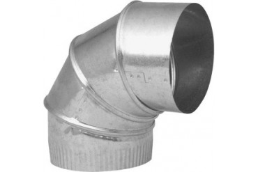 Imperial Mfg Group Gv0304-C Galvanized Adjustable Elbow