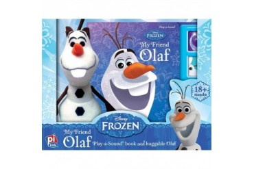 Frozen My Friend Olaf Book and Plush Set