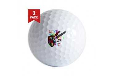bass2 Music Golf Balls by CafePress