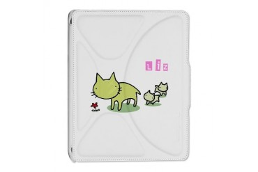 Liz Cute iPad 2 Cover by CafePress