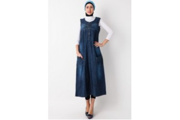 Cosmo Polite Gamis Jeans Singlet 2