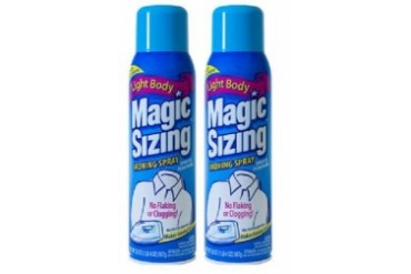 Faultless Starch Magic Fabric Sizing Spray 2 Bottle Pack