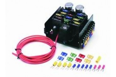 Groovy Painless Wiring 12 Circuit Compact Universal Pro Street Fuse Block Wiring Cloud Hisonuggs Outletorg