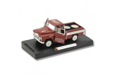 Frost Cutlery 1:28 Scale 1957 Chevrolet Cameo Pickup & State Quarters Gift Set - Alabama