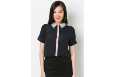 SS Double Collar Blouse
