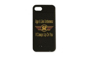 BirthdayUnderwear52.png Funny iPhone Charger Case by CafePress