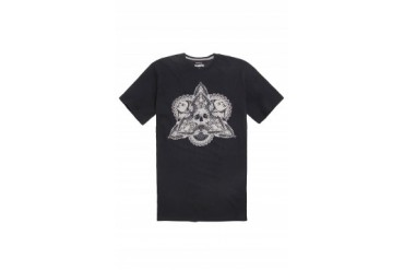 Mens Volcom T-Shirts - Volcom Tabacco And Leather T-Shirt
