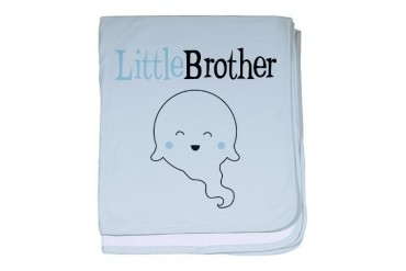 Ghost Little Brother Baby Blanket Halloween baby blanket by CafePress