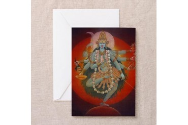 Kali Card Pk of 10 Art Greeting Cards Pk of 10 by CafePress
