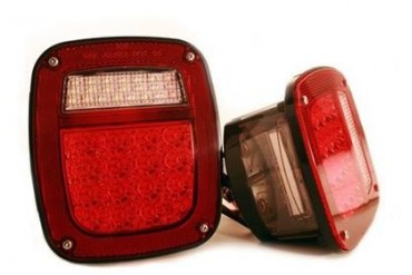 Delta Industries LED Passenger Side Tail Light 01-1974-LEDR Tail & Brake Lights