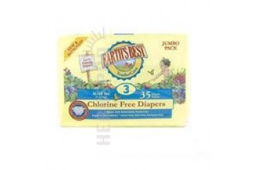 Chlorine Free Diapers Size 3 35 Count(case of 4)