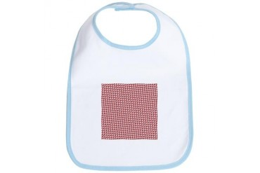 Valentine Houndstooth Holiday Bib by CafePress