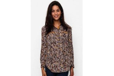 Triset Ladies Long Sleeve With Collar Blouse
