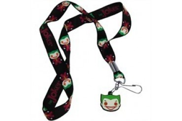 DC Comics Batman Joker Pop Heroes Charm Lanyard