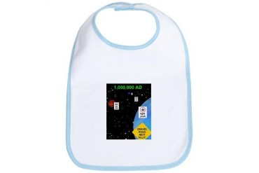 space highway Space Bib by CafePress