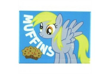 My Little Pony Derpy Muffins Rectangle Magnet