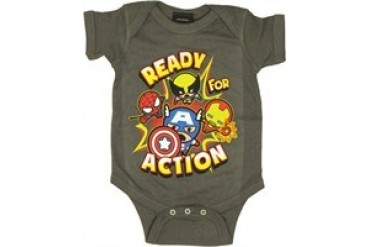 Marvel Comics Toon Ready for Action Group Snap Suit