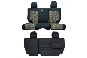 Trek Armor Rear Split Bench Seat Cover TAJKSC0810R4BA Seat Cover